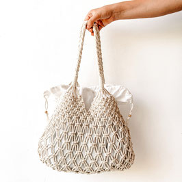 Handtasche Makramee