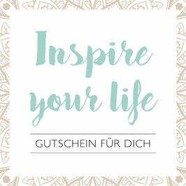 Gutschein für einen Einkauf auf www.yoga-boutique.ch