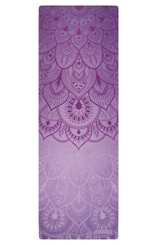 "Reisematte/Yogatuch ""Mandala violett"""