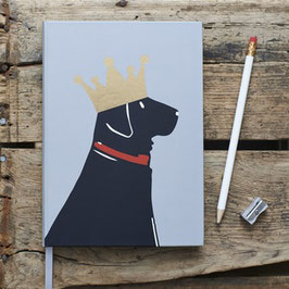 Notizbuch black Labrador (ohne Zubehör)
