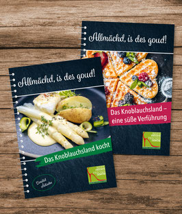Rezept und Dessert- Backbuch (im Set)