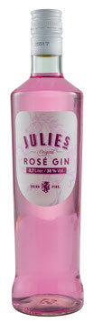 Julie's Rosé Gin 38% vol. 0,7l