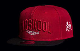 "Snapback ""Oldskool Red´n´Black"""