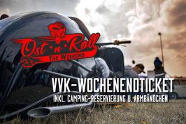 """VVK-Wochenendticket / Bändchen für """"OST ´N´ ROLL - THE WEEKEND"""