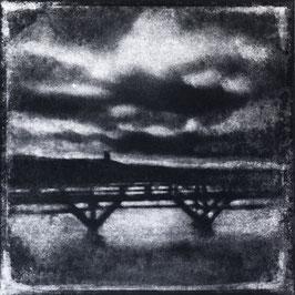 Monotype, C : Clair/obscur 2020, tirage au charbon, bichromie