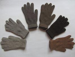 dicke Woll-Fingerhandschuhe mit breitem Schnitt