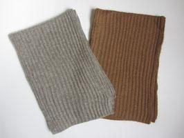 gerippter Woll-Schal