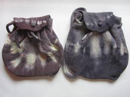 Rucksack lila batik