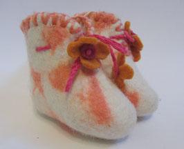 Babyschüchen rosa - weiss