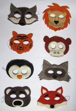 Tier-Masken