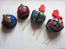 mongolisch traditionelle Hüte für Kinder