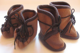 Kamelwoll-Babyschüchen