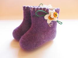 Babyschüchen lila