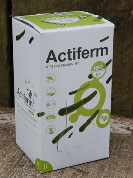 Actiferm 2 Litre Bag-in-box  vacuum packed for freshness