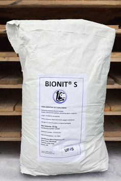 Bionit-S 25kg Bag. Contains 57% of silicon dioxide from natural sources.
