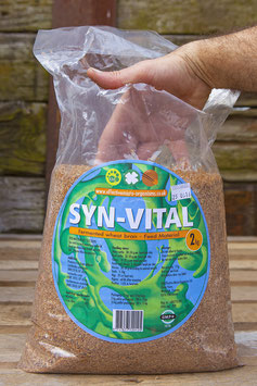 Syn-Vital 2kg 'friendly' bacteria feed additive to enhance the animals immune system naturally.