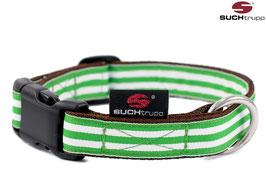 SUCHtrupp BEACH - Jadegrün - Halsband und passender Schlüsselanhänger