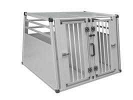 Aluminium Autotransportbox groß
