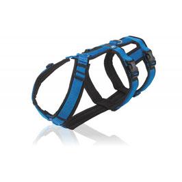 Geschirr Safety schwarz/blau