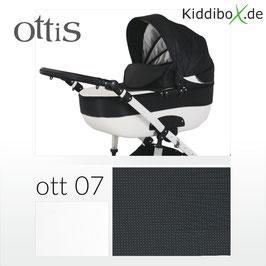 3 in 1 Ottis Kombikinderwagen black dotted 07
