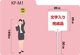 小型プラカード(文字入り)