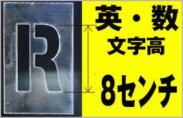 SS-80 文字高8センチ(50ピース)