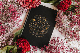 """Dreamy Moons Journal """"Trust your intuition"""""""
