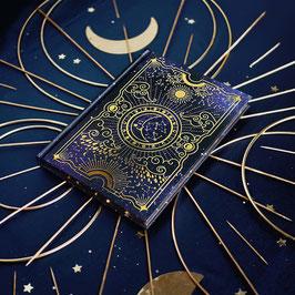 La Lune Journal mit Samttasche