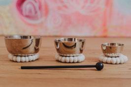 Zen Klangschalen Set