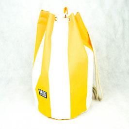 Seesack gelb-weiss