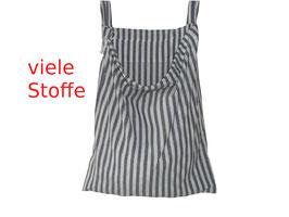 Wäschesack zum Aufhängen mit Schlaufen oder Kordelbändern, 45x55 cm