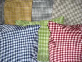 Kissenbezug Vichykaro Farbwahl