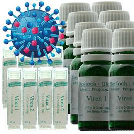 Globuli Set: GLOB22 Immunsystem, GLOB2 Atemwegserkrankungen, GLOB42 Viren 5