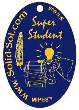 SUPER-STUDENT-PLAKETTE