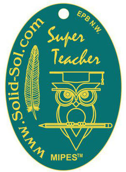 SUPER-TEACHER-PLAKETTE