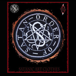 Order of Satan Pentagram Sigil Patch