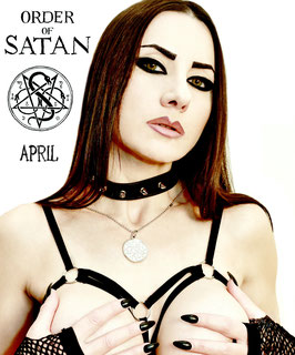 Order of Satan Pentagram Medaillon- Polished