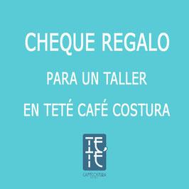 CHEQUE REGALO TALLERES