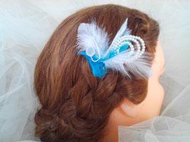Pic, épingle, cheveux, mariage, OcéanPerla