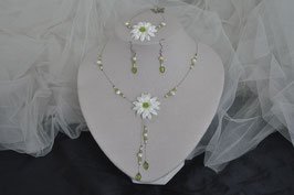 Parure Collier, Bracelet, Boucles d'oreilles NaturePerla