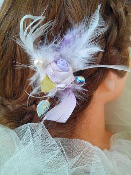 Pic, épingle, cheveux, mariage, FannyPerla