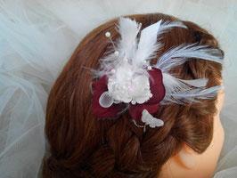 Pic, épingle, cheveux, mariage, OliviaPerla