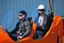 Flugstunde Tragschrauber-Schule