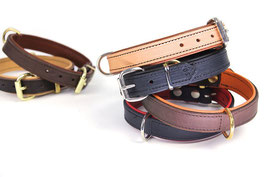 Lederhalsband 65-90cm