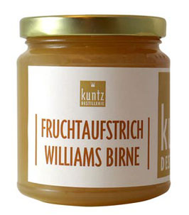 Fruchtaufstrich Williams Birne