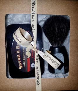Kit Savon à Barbe avec blaireau