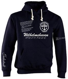 """""""Wilhelmshaven"""" Maritim-Hoodie"""