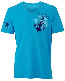 """""""Wilhelmshaven""""-Shirt II Ed. 2018 V-Neck"""