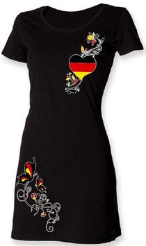 """""""Deutschland"""" Lady T-Shirt-Kleid"""