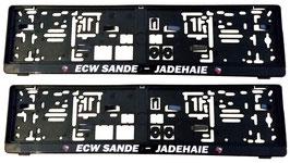 ECW Kennzeichenhalter-Set